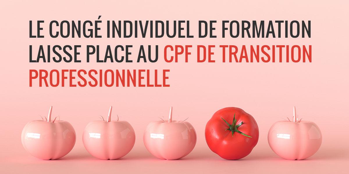 CPF CPFTP trnasition professionnelle fongecif IDF