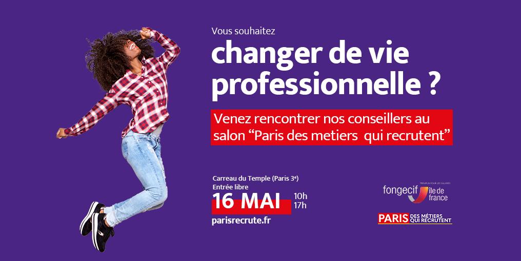 ALON PARIS DES MÉTIERS QUI RECRUTENT 2019 Fongecif ile-de-france