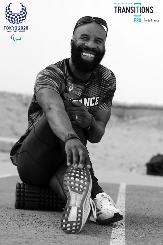 Trésor Makunda, quintuple médaillé Olympique et ambassadeur Transitions Pro Île-de-France